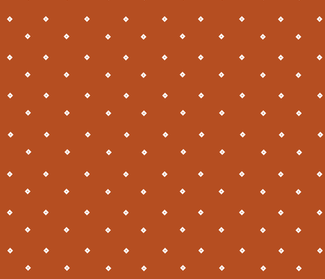 Diamonds in the Rust fabric by mariahgoldendesign on Spoonflower - custom fabric