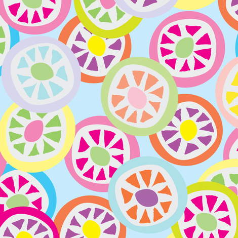 Mmmm Candy! fabric by owlandchickadee on Spoonflower - custom fabric