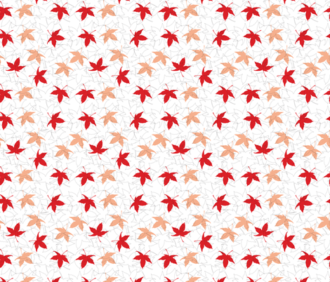 japanese maple fabric by cocoshop on Spoonflower - custom fabric