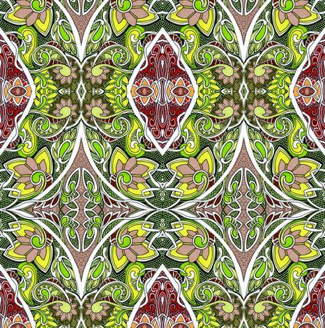 Then Came Spring fabric by edsel2084 on Spoonflower - custom fabric
