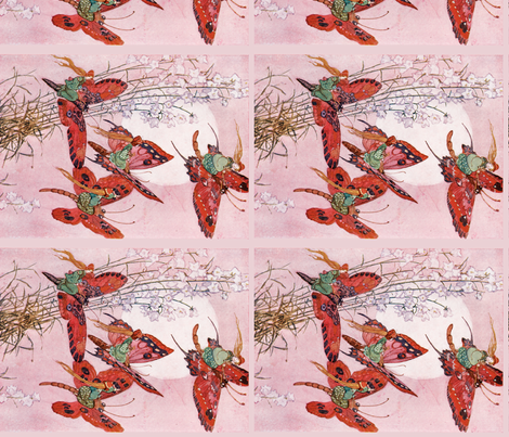 The Fairy Folk, 1912 fabric by craftyscientists on Spoonflower - custom fabric