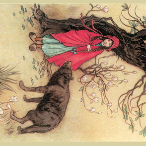"Red Riding Hood, "" A Child's Book of Stories"", 1913"