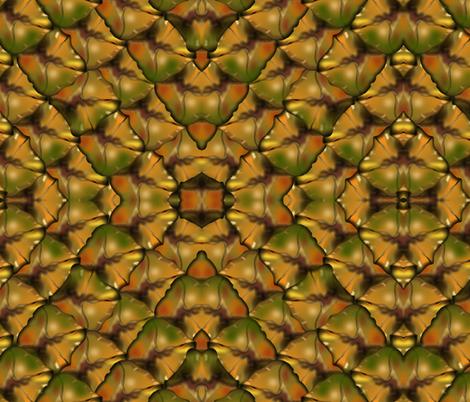 pineapple skin fabric by boneyfied on Spoonflower - custom fabric