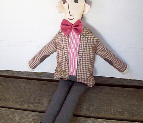 11th Doctor doll