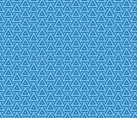 Blue Triangles fabric by mihaela_zaharia on Spoonflower - custom fabric