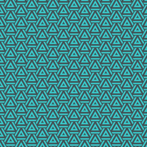Turquoise Triangles