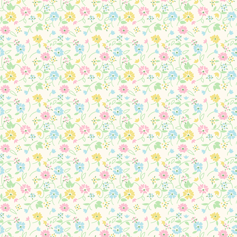 vintage 2 fabric by kategabrielle on Spoonflower - custom fabric