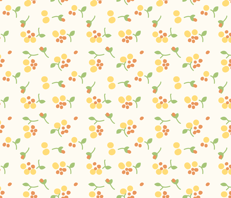 vintage 3 fabric by kategabrielle on Spoonflower - custom fabric