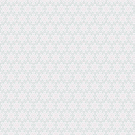 Snowflake_Lace_-pastel-multi1 fabric by fireflower on Spoonflower - custom fabric