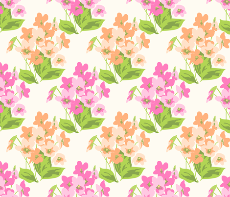 vintage 4 fabric by kategabrielle on Spoonflower - custom fabric