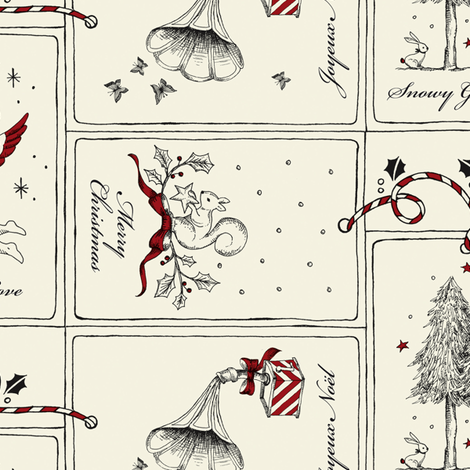 Christmas Wonders fabric by estrella_de_anis on Spoonflower - custom fabric