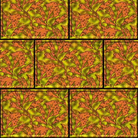 seaweed under water fabric by y-knot_designs on Spoonflower - custom fabric