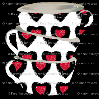 Cups of Love Decal