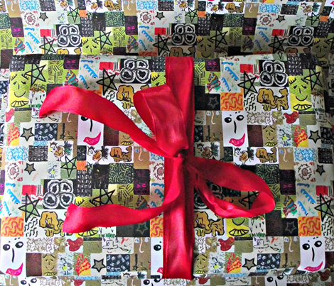 Cartoon Cheater Quilt
