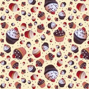 Cupcake Dot Jumble