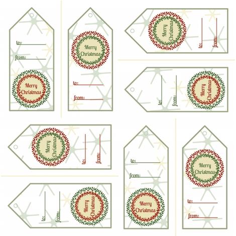 Gift_tags fabric by amyscreativeside on Spoonflower - custom fabric