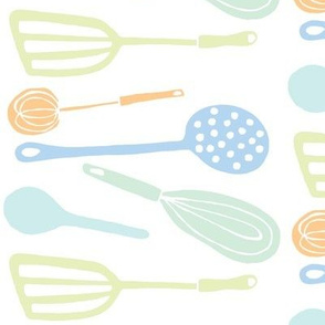 Magic Kitchen Tools (multi-pastel)