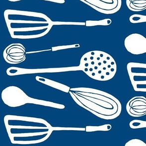 Magic Kitchen Tools (midnight sky blue &amp; white)