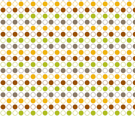 Fall Circle Pattern fabric by emily_caraballo on Spoonflower - custom fabric