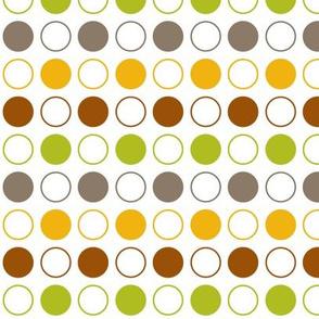 Fall Circle Pattern