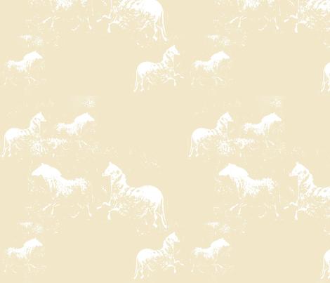 Ethereal Horses fabric by karendel on Spoonflower - custom fabric