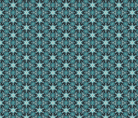 Snowflakes fabric by mihaela_zaharia on Spoonflower - custom fabric