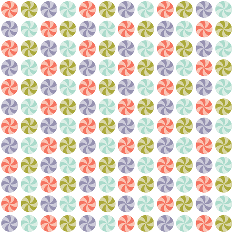 Candy fabric by eleasha on Spoonflower - custom fabric