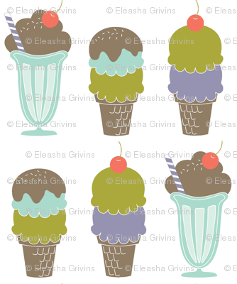 Ice Cream Line-Up