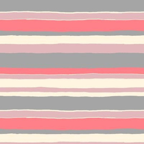 Painted Stripe (coral)