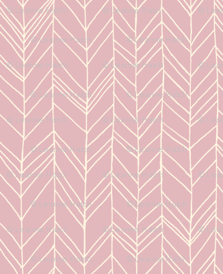featherland (dusty pink)