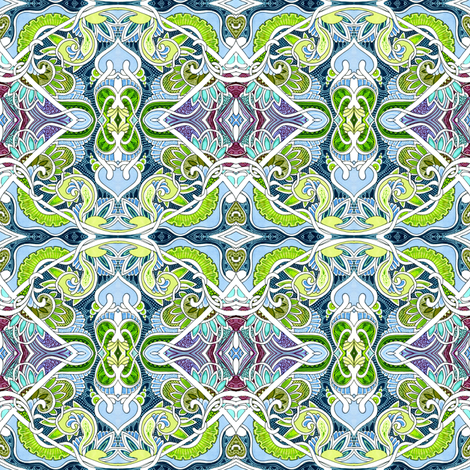 Cabbage Patchwork fabric by edsel2084 on Spoonflower - custom fabric