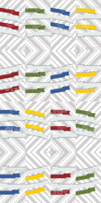 Modern Ribbon Gift Tags
