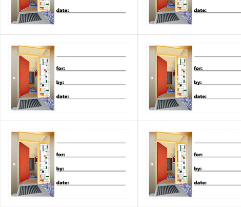 gift_tags_v01_OpenDoor fabric by kstarbuck on Spoonflower - custom fabric