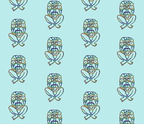 Atabey #5 fabric by technorican on Spoonflower - custom fabric