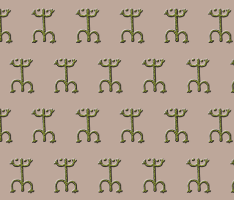 coqui #3 fabric by technorican on Spoonflower - custom fabric
