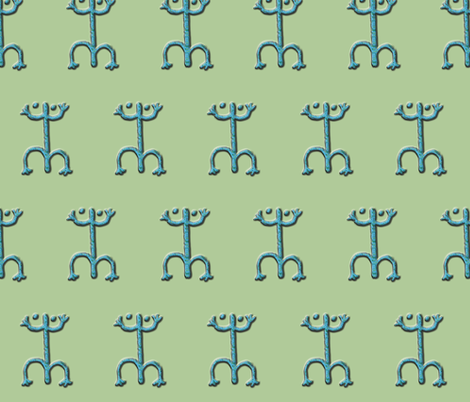 coqui #4 fabric by technorican on Spoonflower - custom fabric
