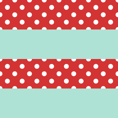 Picnic Stripe - Small fabric by luckylucille on Spoonflower - custom fabric
