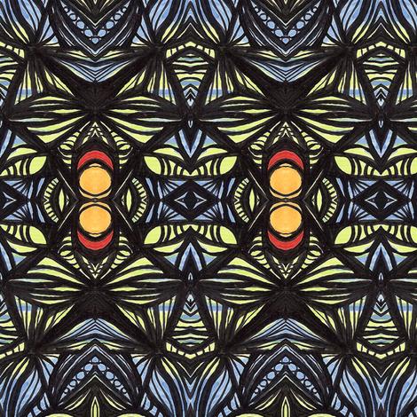 la_la_blues fabric by kcs on Spoonflower - custom fabric