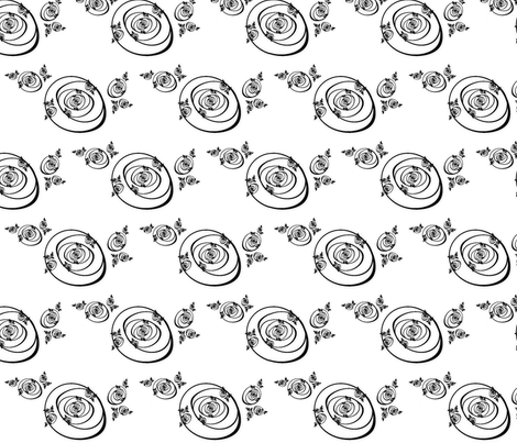 Rose Woes fabric by winter on Spoonflower - custom fabric