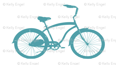 Cruiser in Teal