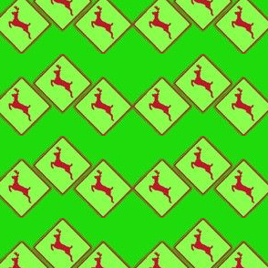 Deer Crossing and Crossing and Crossing