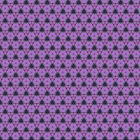 Piyo's Purple Triangles fabric by siya on Spoonflower - custom fabric