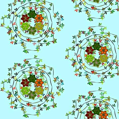 Rrdaisy_chain_floral_on_aqua_shop_preview