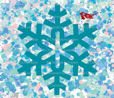 Snowflake & Redbird