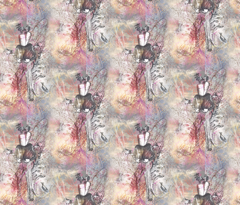 A Manly Carrot fabric by mudstuffing on Spoonflower - custom fabric