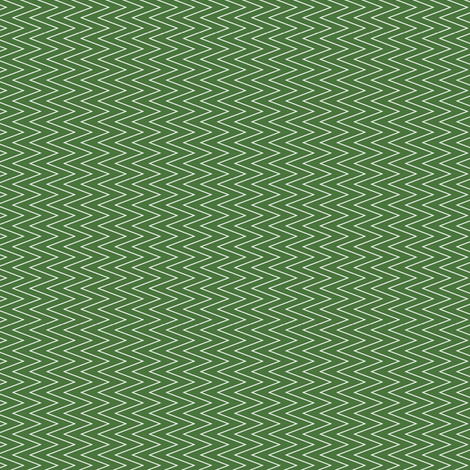 mini chevron white on green fabric by ravynka on Spoonflower - custom fabric