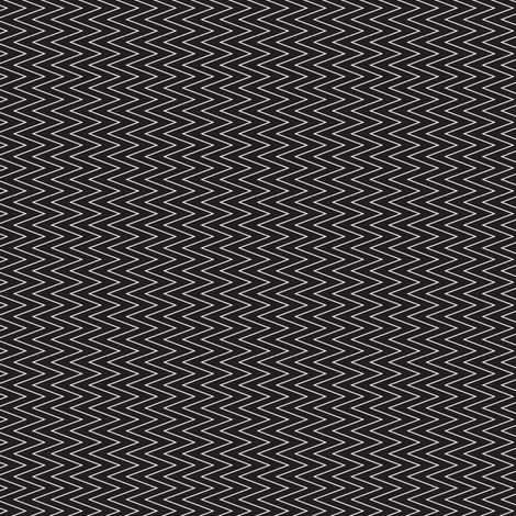 mini chevron white on black fabric by ravynka on Spoonflower - custom fabric