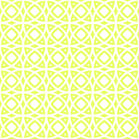 circles lime fabric by ravynka on Spoonflower - custom fabric