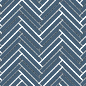 herringbone grayish navy