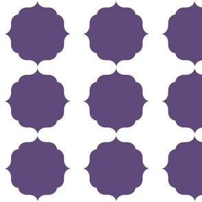Purple Moroccan Theme Pattern